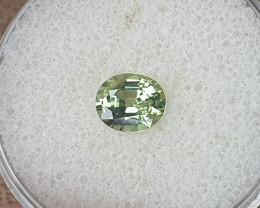 1,05ct Green Sapphire