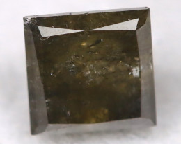 Greyish Green 0.45Ct Natural Untreated Fancy Diamond BM0501