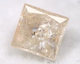 0.17Ct Natural Princess Cut Untreated Fancy Diamond BM0509