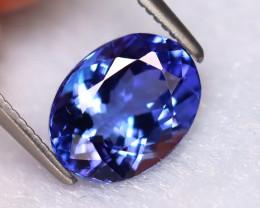 Tanzanite 2.39Ct Natural VVS Purplish Blue Tanzanite EN42/D8
