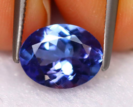 Tanzanite 1.73Ct Natural VVS Purplish Blue Tanzanite EN43/D8