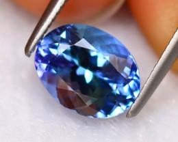Tanzanite 2.15Ct Natural VVS Purplish Blue Tanzanite EN46/D8