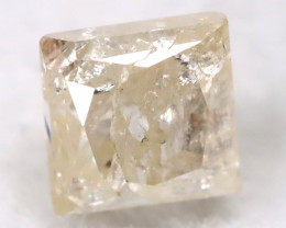 0.28Ct Natural Princess Cut Untreated Fancy Diamond BM0518
