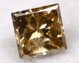 Champagne 0.14Ct Natural Untreated Fancy Diamond BM0527