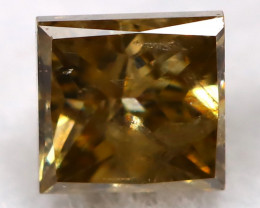 Champagne 0.21Ct Natural Untreated Fancy Diamond BM0529