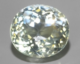 3.60 Nice Quality Natural Aquamarine  Untreated Oval Shape~Excellent!!