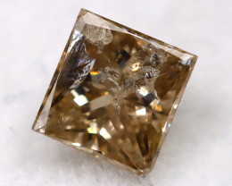 Champagne 0.22Ct Natural Untreated Fancy Diamond BM0535