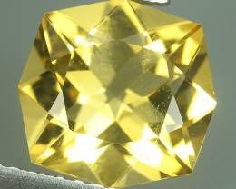 2.30 Cts Ravishing Natural Yellow Citrine Cushion Cut Gemstone!!
