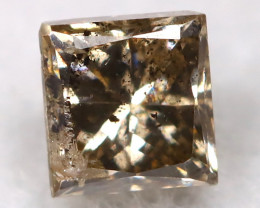 Champagne 0.16Ct Natural Untreated Fancy Diamond BM0538