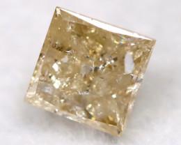 Greyish Orange 0.22Ct Natural Untreated Fancy Diamond BM0544