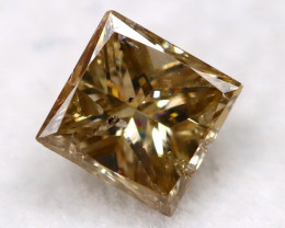 Champagne 0.18Ct Natural Untreated Fancy Diamond BM0546