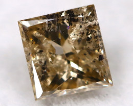 Champagne 0.25Ct Natural Untreated Fancy Diamond BM0548