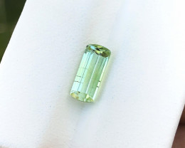 2.10 Ct Natural Green Transparent Top Quality Ring Size Tourmaline Gem
