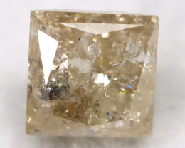 Greyish Orange 0.28Ct Natural Untreated Fancy Diamond BM0551
