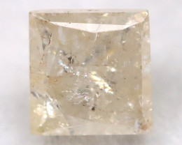 Light Yellow 0.24Ct Natural Untreated Fancy Diamond BM0552