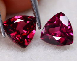 Mahenge Garnet 1.78Ct VS2 Trillion Cut Natural Mahenge Garnet A0905
