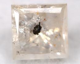 0.33Ct Natural Princess Cut Untreated Fancy Diamond BM0556