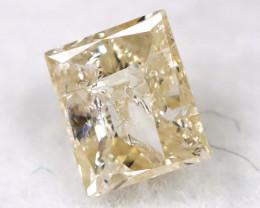 0.17Ct Natural Princess Cut Untreated Fancy Diamond BM0559