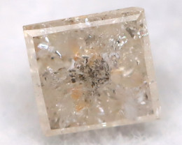 0.18Ct Natural Princess Cut Untreated Fancy Diamond BM0565