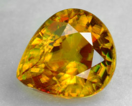 0.84 CT SPHENE WITH DRAMATIC FIRE AFGHANISTAN SP7