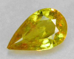 NATURAL SPHENE WITH DRAMATIC FIRE AFGHANISTAN SP17