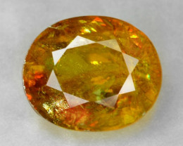 1.22 CT SPHENE WITH DRAMATIC FIRE AFGHANISTAN SP19