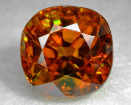 1.45 CT SPHENE WITH DRAMATIC FIRE AFGHANISTAN SP20