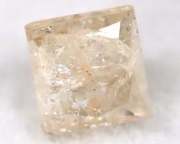 0.26Ct Natural Princess Cut Untreated Fancy Diamond BM0589