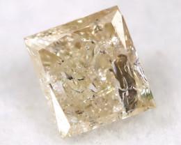 0.23Ct Natural Princess Cut Untreated Fancy Diamond BM0594