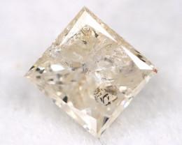 0.29Ct Natural Princess Cut Untreated Fancy Diamond BM0595