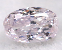 Pink 3.1mm Natural Untreated Fancy Diamond BM0604