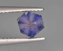 Natural Trapiche Sapphire 1.22 Cts from  Afghanistan