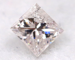 Pink 2.6mm Natural Untreated Fancy Diamond BM0607