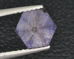 Natural Trapiche Sapphire 1.27 Cts from  Afghanistan