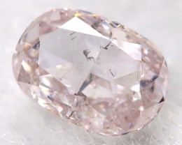 Pink 0.10Ct Natural Untreated Fancy Diamond BM0614