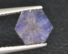 Natural Trapiche Sapphire 1.84 Cts from  Afghanistan