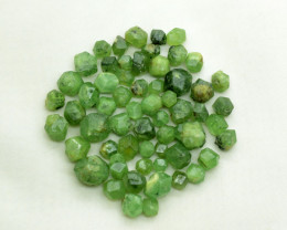 100 CT Ultra Rare Demantoid Garnet Crystals@ Afghanistan