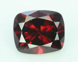 Top Quality  2.60 ct Fancy Cut Red Garnet
