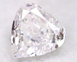 Light Pink 0.10Ct Natural Untreated Fancy Diamond BM0629