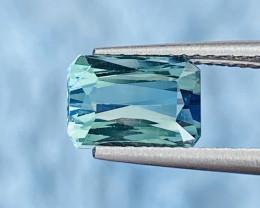 2.42 ct indicolite Tourmaline Gemstone /GIL Certified