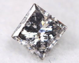 Salt and Pepper 2.8mm Natural Untreated Fancy Diamond BM0633