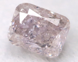 Pink 3.1mm Natural Untreated Fancy Diamond BM0634