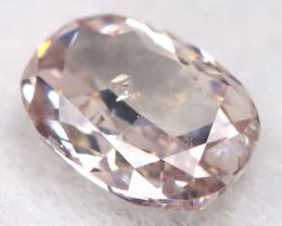 Pink 0.14Ct Natural Untreated Fancy Diamond BM0647