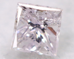 Pink 2.7mm Natural Untreated Fancy Diamond BM0677