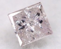 Pink 2.5mm Natural Untreated Fancy Diamond BM0679