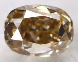 Champagne 2.9mm Natural Untreated Fancy Diamond BM0688