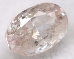 Light Pink 0.10Ct Natural Untreated Fancy Diamond BM0692