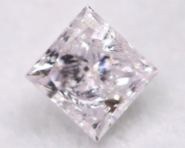 Light Pink 0.12Ct Natural Untreated Fancy Diamond BM0699