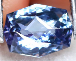 BiColor Peacock Tanzanite 1.36Ct VVS Master Cut Natural Tanzanite A1011