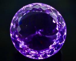 34.54 Crt Amethyst Faceted Gemstone (Rk-76)